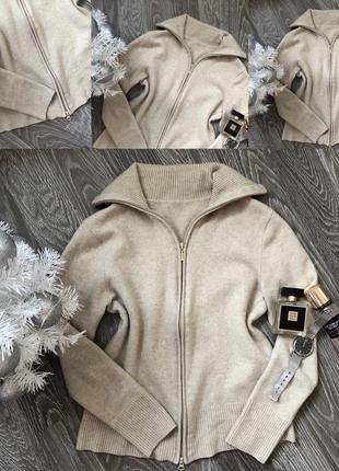 Кашеміровий светр з замком