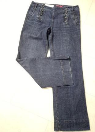 Супер модные джинсы с высокой посадкой