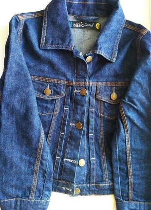 Комплект джинсова куртка + короткі шорти