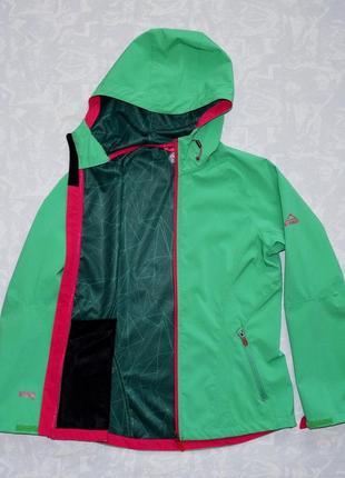 Женская мембранная ветровка софтшелл куртка термо ветровка softshell термокуртка