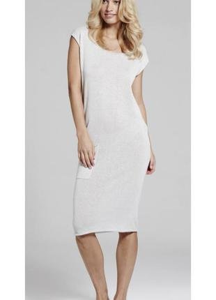 Трикотажное платье туника yaya