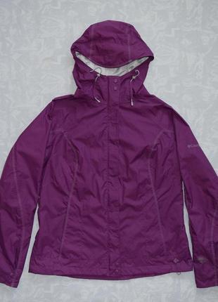 Мембранная ветровка columbia omni-tech куртка влагоотталкивающая осенняя куртка