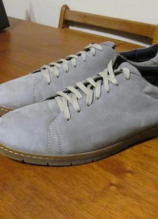 Комфортные кожаные туфли solid