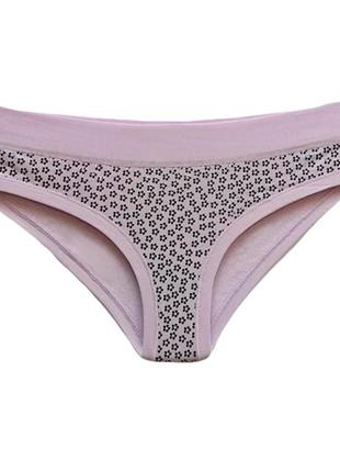 Женские хлопковые трусики хипстеры lovely girl в розовом цвете. lovely girl 3494