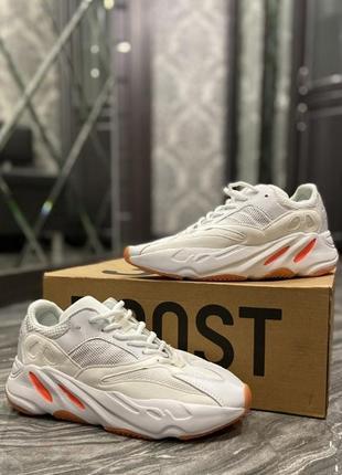 🔥 adidas yeezy 700 white red