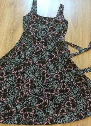 #платье из вискозы#летний сарафан#dorothy perkins#