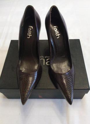 Кожаные туфли faith