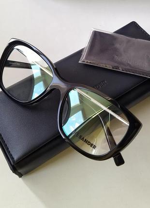 Новая оправа jil sander оригинал очки премиум жиль сандер made in italy