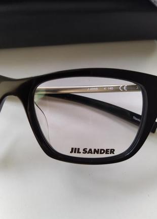 Новая титановая оправа jil sander оригинал очки премиум жиль сандер