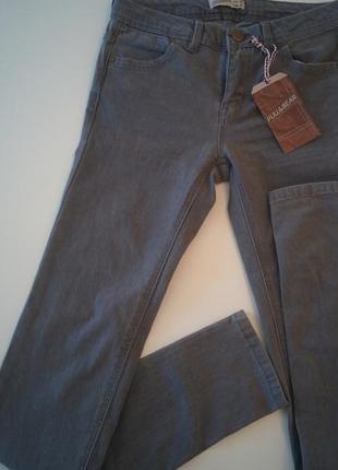 Pull and bear стильные джинсы