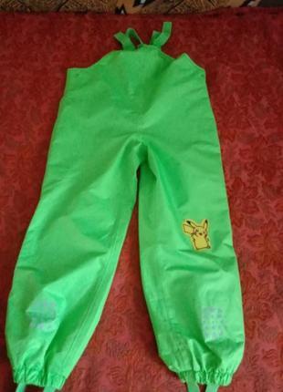 Грязепруф полукомбинезон штаны для двора