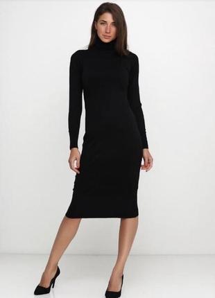 Шикарное платье водолазка, в составе кашемир