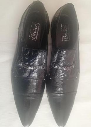 Ботинки мужские лаковые