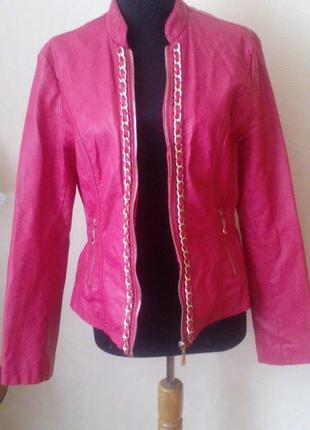 Курточка из экокожы