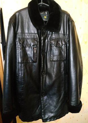 Очень тёплая качественная куртка турецкой фирмы your iq is your fashion