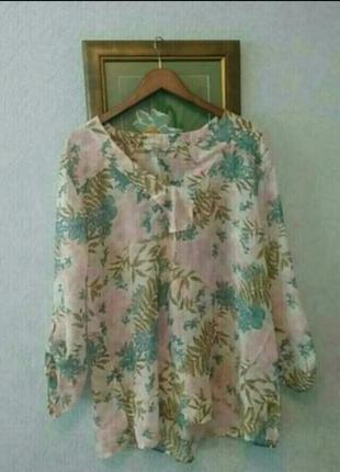 Легкая ,невесомая ,полупрозрачная ,блуза