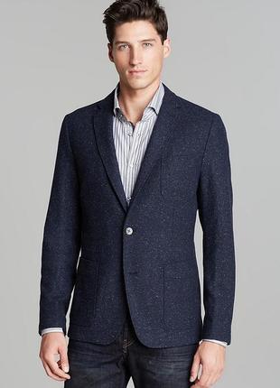 Брендовых стильный пиджак блейзер, оригинал hugo boss