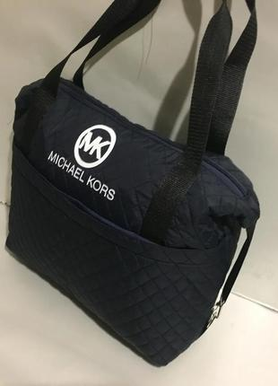 Спортивная повседневная  городская женская сумка, болонья