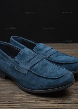 Мужские туфли лоферы geox respira besmington u641xg оригинал р-42