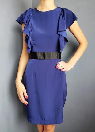 Платье синие river island