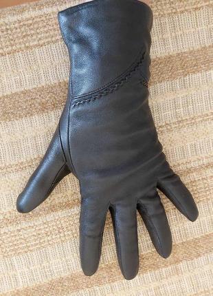 Перчатки зимние. натуральная кожа. размер 8 1/2.