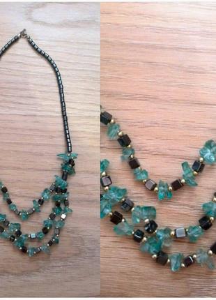 Колье ожерелье подвеска кулон