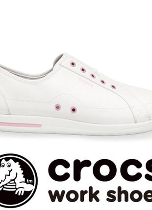 Оригинал новые кроссовки crocs alaine nurse sneaker w10