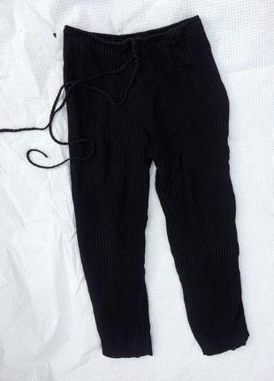 Летние шелковые брюки armani