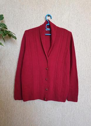 Красивый, качественный кардиган , джемпер, кофта от marks&spencer, 100% шерсть