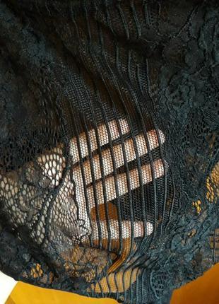 Эротическое белье большой размер, сексуальное кружевное боди большого размера на косточках3 фото