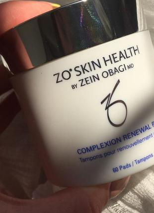 Салфетки для контроля за секрецией себума zo skin obagi oil control pads