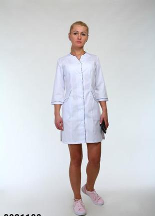 Халат медицинский, батист, р. 42-60; женская медицинская одежда, 8921100