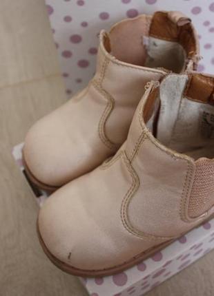 Ботинки демисезонные h&m .стелька 14,5 см
