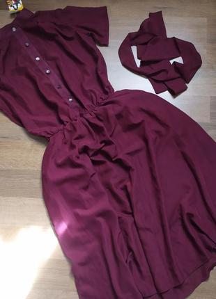 Платье новое, бордовое