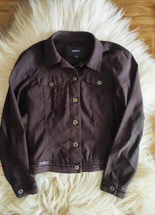 Пиджак куртка жакет коттоновая mexx
