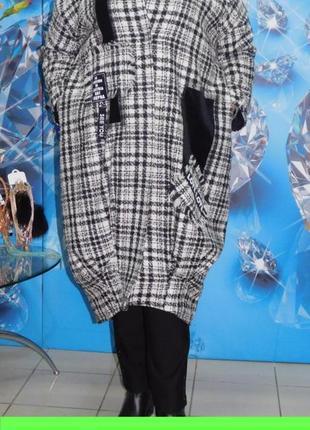 Пальто,полупальто,кардиган большого размера-62-64.