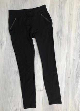 Стильные плотные брюки лосины