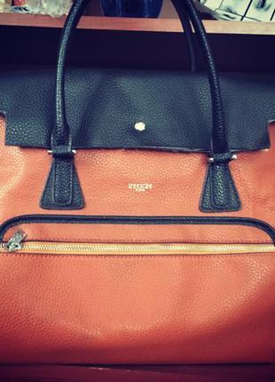 Яркая сумка hermes