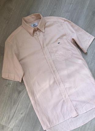 Рубашка lacoste m-l