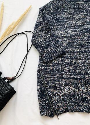 Вязаный свитер туника3 фото
