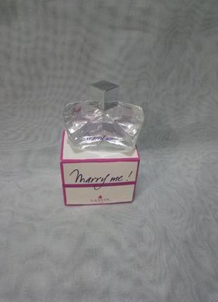 Lanvin marry me парфюмированная вода миниатюра 4.5мл пробник оригинал
