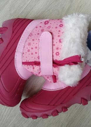 Шикарные зимние ботинки термо германия новые сапоги
