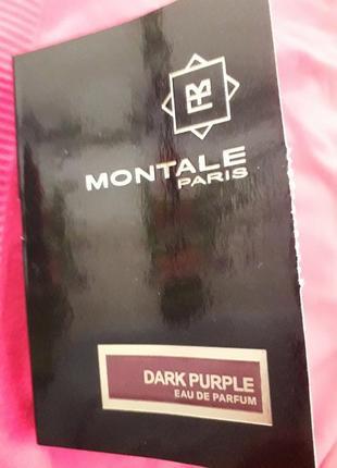 Пробник montale dark purple
