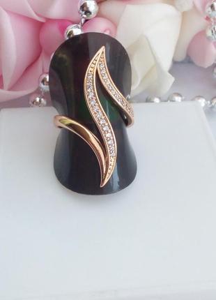 Кольцо xuping, позолота 585 проба, 18к, медицинское золото   17 р.