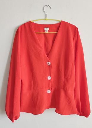 Актуальная блуза plus size от river island