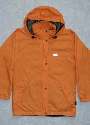 Мембранная ветровка gore-tex ultra-lite оранжевая куртка gore-tex функциональная ветровка