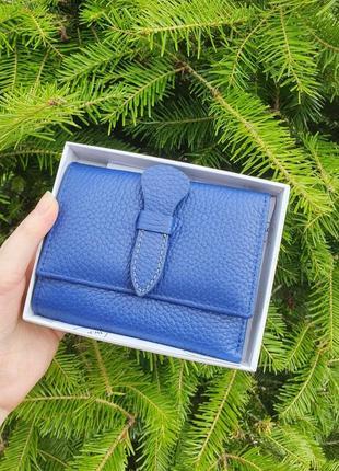 Жіночий компактний шкіряний гаманець dr.bond.