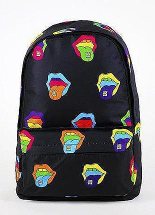 Принтованный рюкзак для молодежи