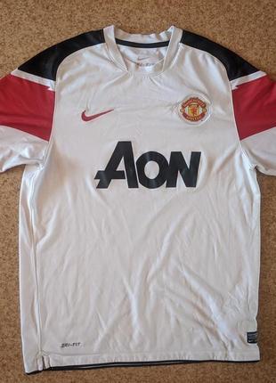 Футболка nike футбольного клуба manchester united 2010/11