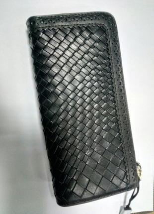 Кожаный кошелек от massimo dutti